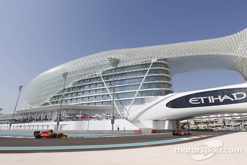 GP2 Series back in action at Yas Marina