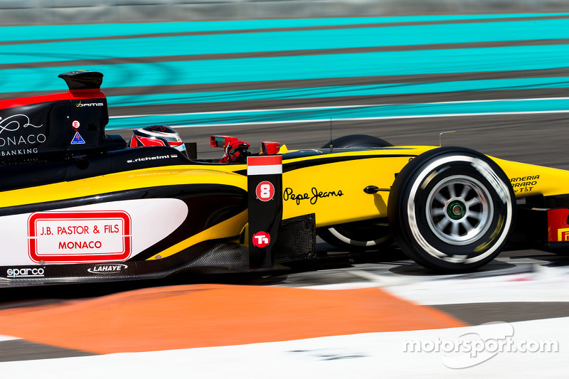 Second day of GP2 test in Abu Dhabi: Richelmi won 4th best time of day