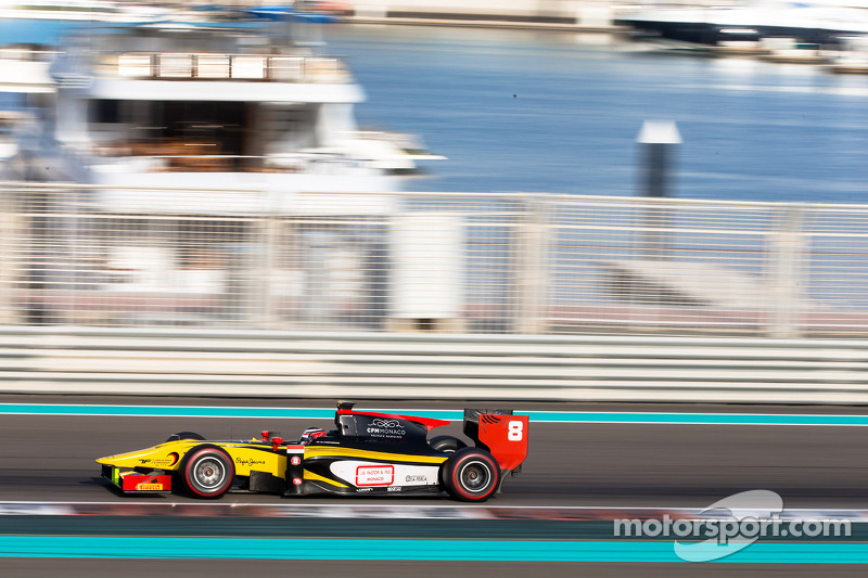 Stéphane Richelmi: The GP2 collective tests are concluded in Abu Dhabi