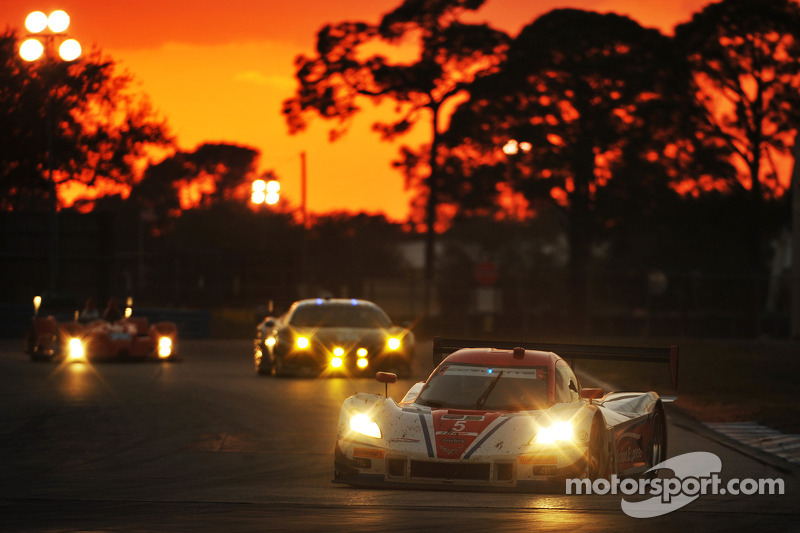 Corvette DPs at Sebring: podium finish for Action Express Racing