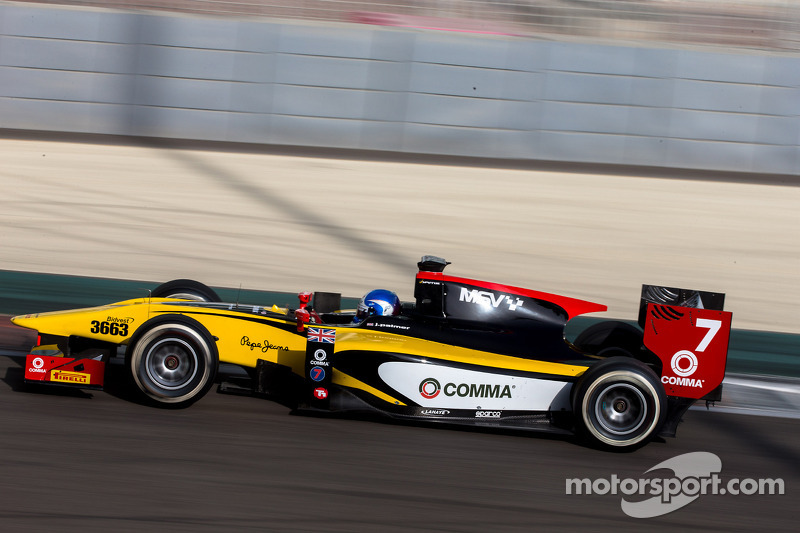 Jolyon Palmer continues to impress in pre-season Bahrain test