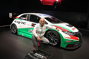 WTCC Breaking news Honda unleash 'Muscular' new Civic to take on FIA WTCC 2014