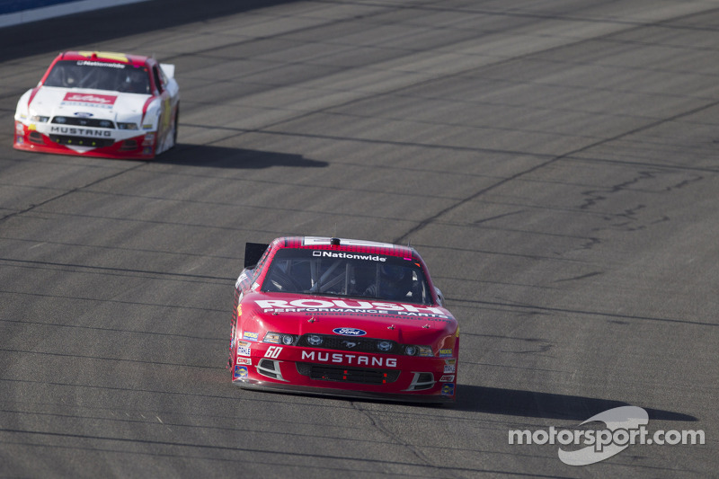 Rookie Chris Buescher captures third top-15 finish of season at Fontana