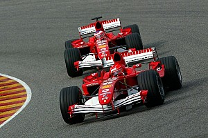 Ferrari 'only did well with Schumacher' - Montoya