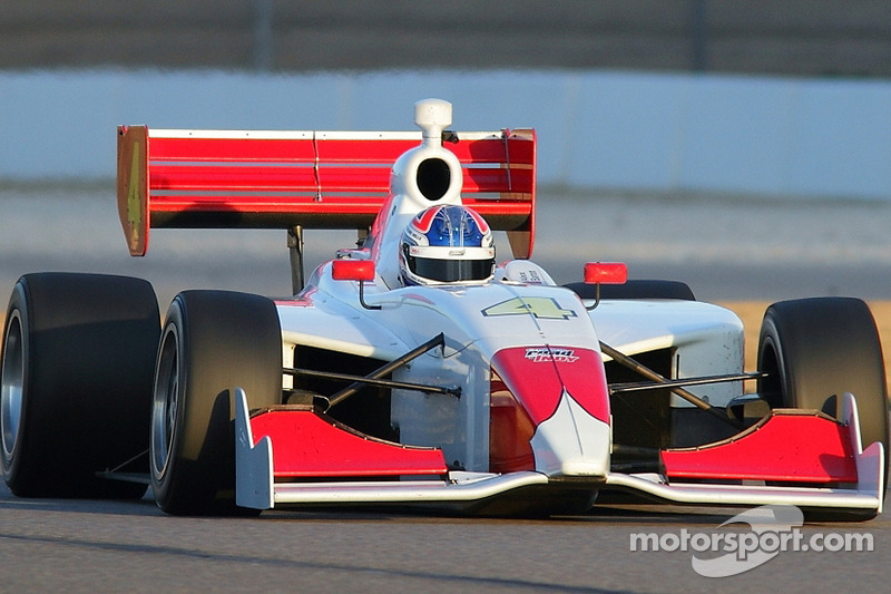 Baron excited to start 2014 Indy Lights season on streets of St. Petersburg