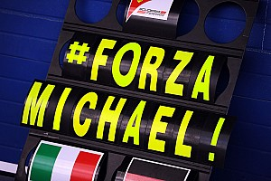 Formula 1 Breaking news Friend Saillant 'not talking' about Schumacher