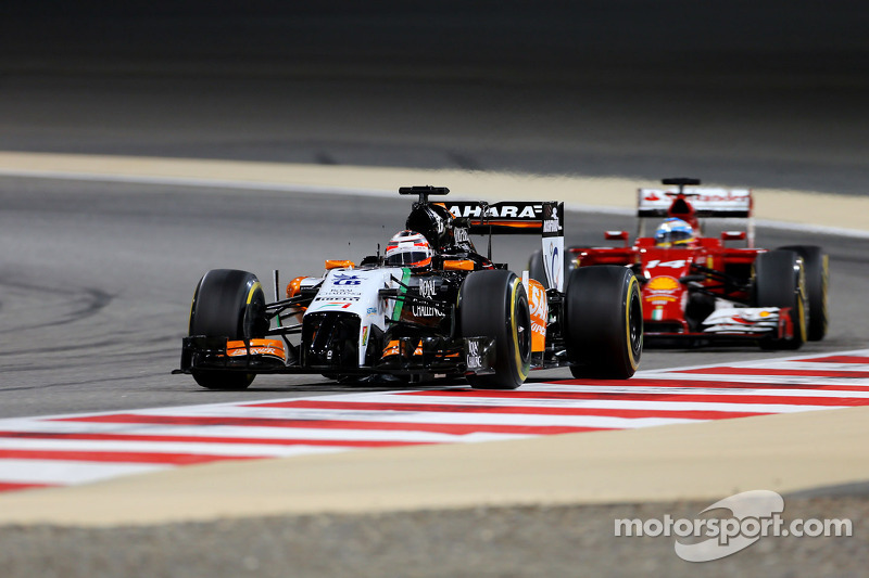 A solid day of practice for Sahara Force India in Bahrain