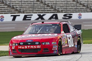 Late race wreck ends day for Buescher at Texas