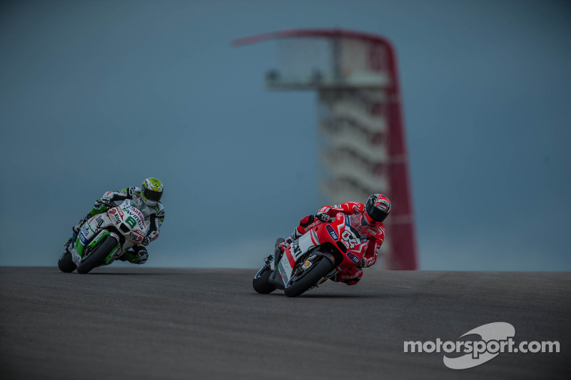 Dovizioso second in first free practice at Austin, Crutchlow ninth