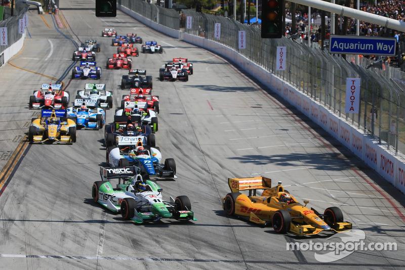IndyCar edgy at Long Beach
