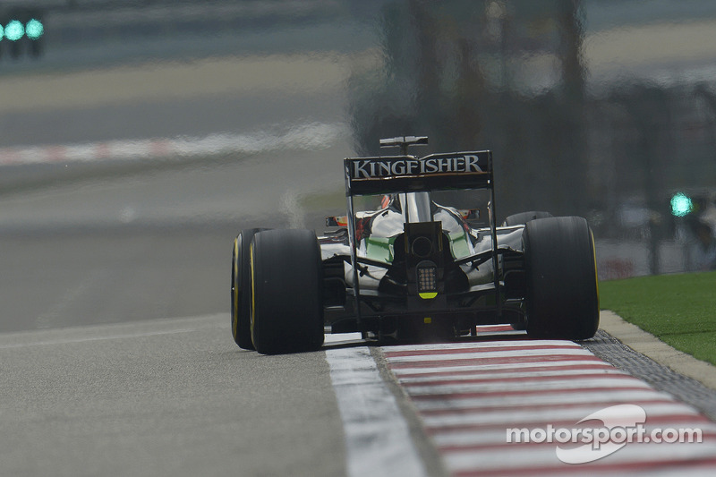 Both Force India cars went through their respective programmes at China
