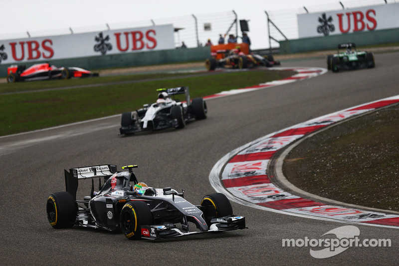 Unhappy Chinese GP for Sauber