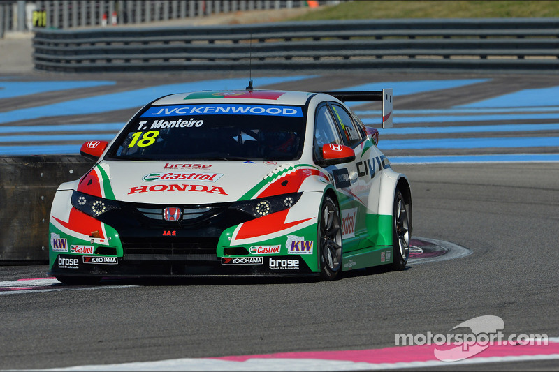 Podium for Tiago Monteiro at Paul Ricard!