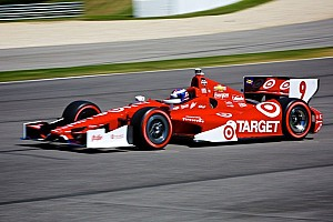 IndyCar Race report Scott Dixon puts Chevrolet IndyCar V6 on the podium at Barber