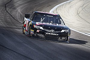 NASCAR Sprint Cup Race report Truex fights balance, rebounds to finish 31st at Richmond