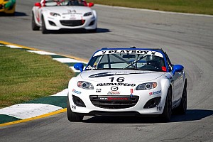 Dean takes opening Mazda MX-5 Cup race at Mazda Raceway