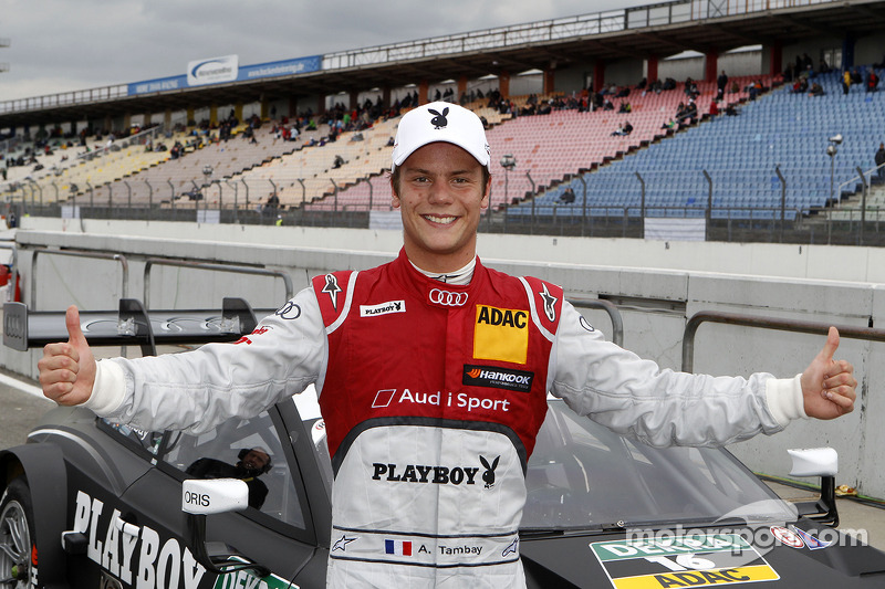 Adrien Tambay to start from pole position for season opener