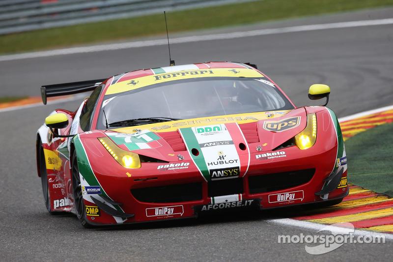 Rigon and Calado earn podium finish at Spa