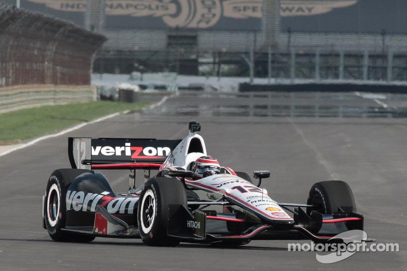 Power fastest Penske driver in Indy GP practice
