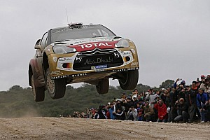 WRC Race report Kris Meeke, Paul Nagle and Citroën on podium in Argentina