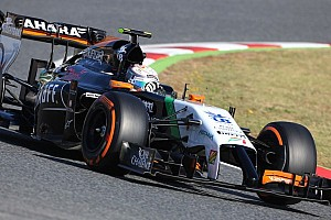 Daniel Juncadella ended testing with Force India at Barcelona
