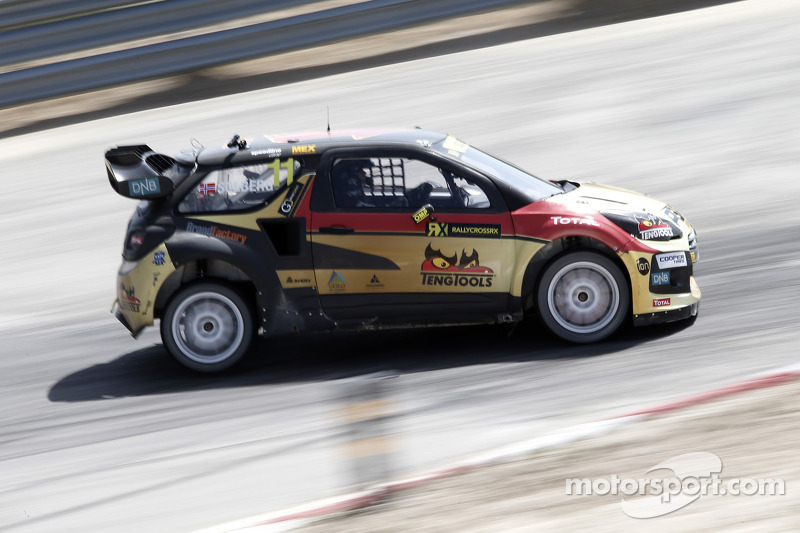Solberg ready to sample more of the British weather in World Rallycross