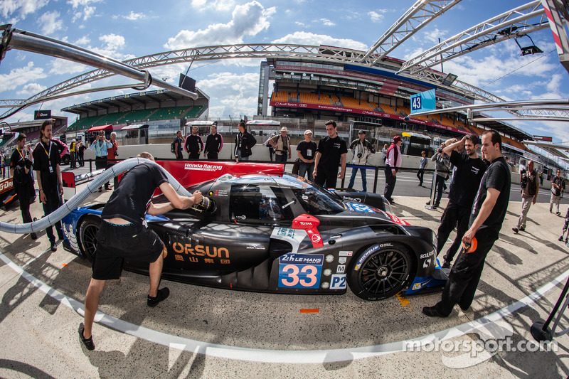 Promising start for OAK Racing Team Asia