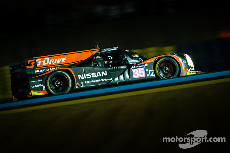 Great effort by G-Drive Racing at the 24 Hours of Le Mans