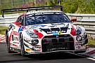 Nissan survives the longest night at the Nurburgring