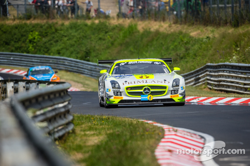 Primat survives Green Hell with seventh on Nurburgring 24 Hours debut
