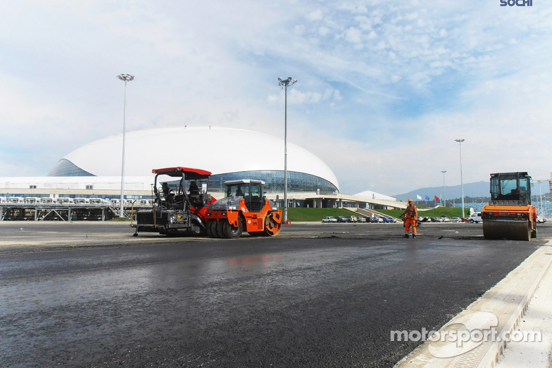 Sochi '99 per cent' ready for F1