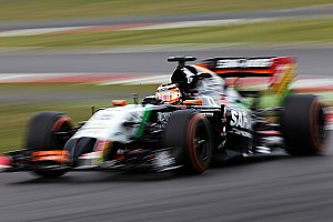 Sahara Force India drivers complete a combined total of 109 laps at Silverstone