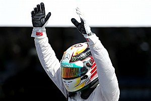 Hamilton took victory in his home race at this afternoon's British GP