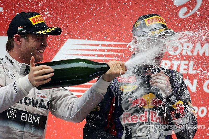 Smooth sailor Rosberg feels sorry for Vettel
