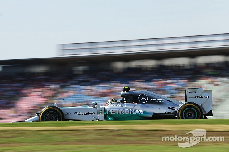 Mercedes' Rosberg secures his fifth pole position of the season at Hockenheim