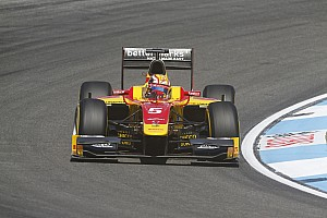 GP2 Race report Stefano drives brilliantly to win the Hockenheim Sprint Race in very difficult conditions