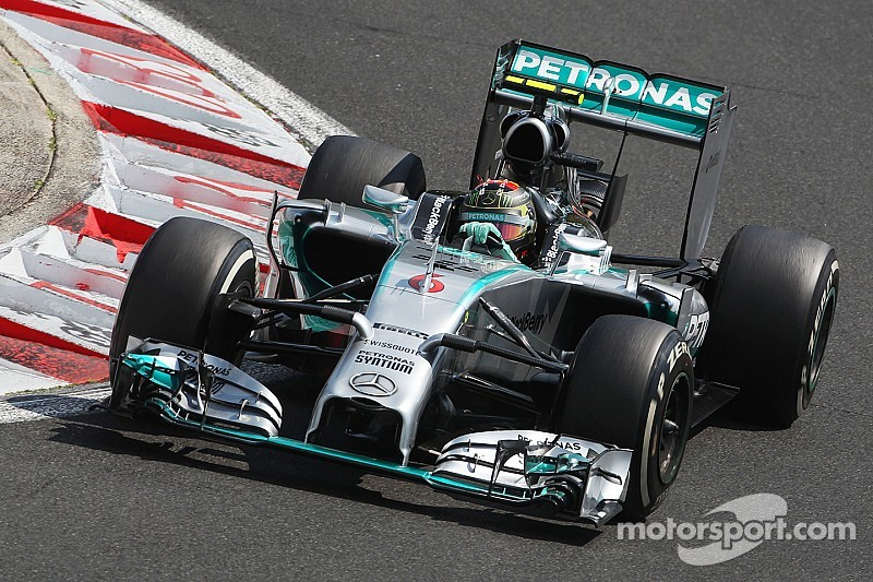 Cool Rosberg admits Hamilton cost him Hungary win