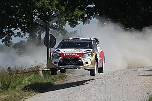 WRC Stage report Kris Meeke at full speed