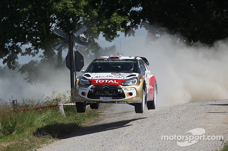 Kris Meeke at full speed