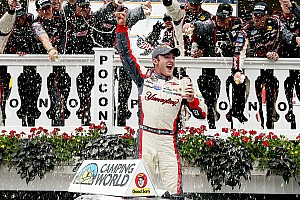 NASCAR Truck Race report Austin Dillon wins Truck race at Pocono