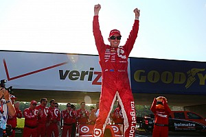 IndyCar Race report Dixon takes fifth win at Mid-Ohio