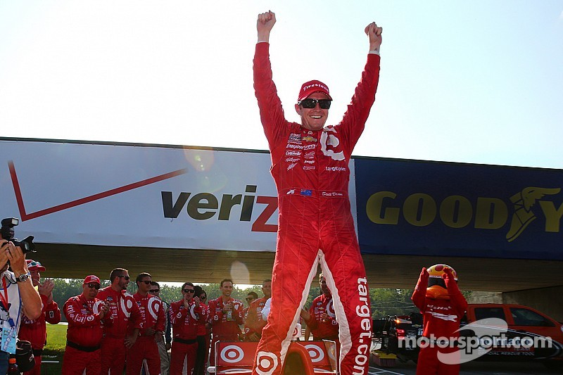 Dixon takes fifth win at Mid-Ohio