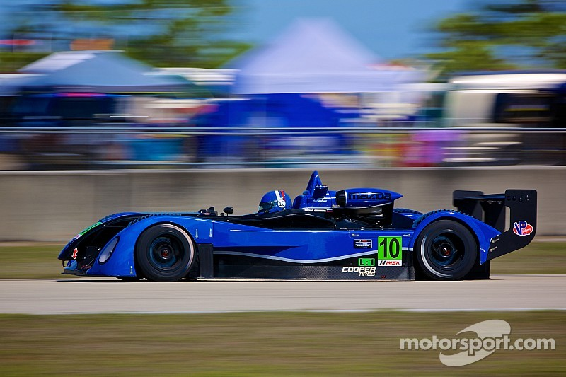 Novich, Goikhberg on front row for Prototype Lites race