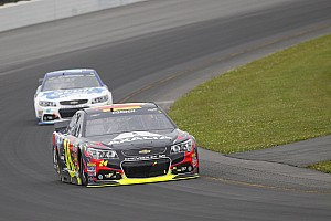 NASCAR Sprint Cup Qualifying report Jeff Gordon puts Chevrolet SS on pole at The Glen