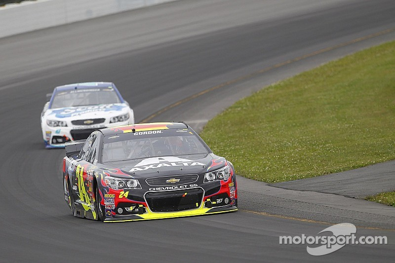 Jeff Gordon puts Chevrolet SS on pole at The Glen