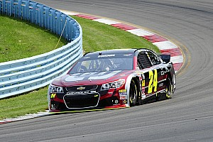 NASCAR Sprint Cup Race report Power issues plague polesitter at the Glen