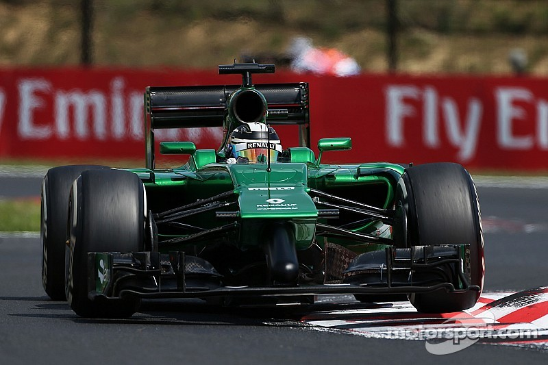 Albers not denying Caterham to axe 'double nose'