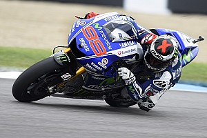MotoGP Qualifying report Second and third row for Yamaha in Brno qualifying