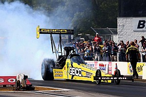 Morgan Lucas wins Top Fuel at Brainerd