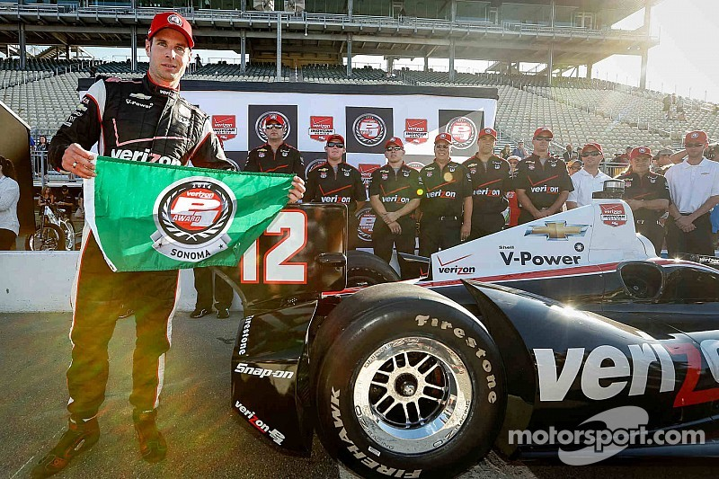 Championship leader Will Power takes Sonoma pole